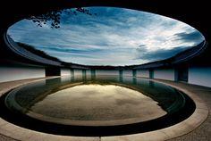 Naoshima island: a standout on Japan's contemporary art scene. (via Things to Do in Japan) The Oval hotel rooms Tadao Ando Contemporary Architecture, Landscape Architecture, Landscape Design, Architecture Design, Contemporary Art, Architecture Wallpaper, Organic Architecture, Beautiful Architecture, Tadao Ando