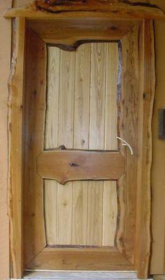 Rustic Door or screen door for cabin?