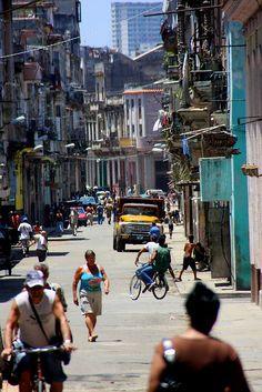 Street of #Havana   #Cuba