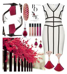 """Dreams"" by hmerveozcan on Polyvore featuring Gina Bacconi, Oscar de la Renta and BERRICLE"