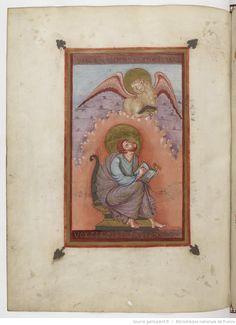 Evangelia quattuor [Évangiles de Lothaire] (3v-207r). Capitulare evangeliorum (207v-221v).