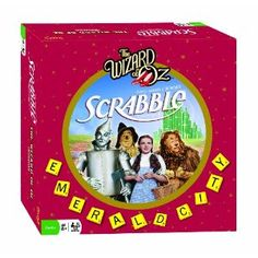 Scrabble Wizard Of Oz Edition - A classic family movie blended with a classic family game Family Movies, Family Games, Dorothy Wizard Of Oz, Broadway, Play Shop, Land Of Oz, Game Quotes, Yellow Brick Road, Game Guide