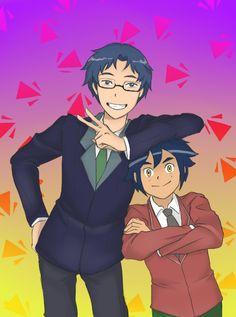Jou and Ikuto