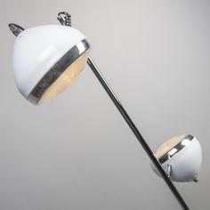 Lampa podłogowa Biker 2 biała #stylskandynawski #nowoczesnelampy #lampyindustrialne