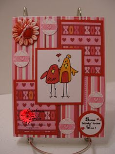 Bird Greetings image by Bugaboo Stamps