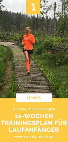 Start running: The training plan for Lau .- Start running: The training plan for beginners Fitness Workouts, Fitness Herausforderungen, Planet Fitness Workout, Sport Fitness, Health Fitness, Fitness Plan, Training Fitness, Strength Training, Abs Challenge