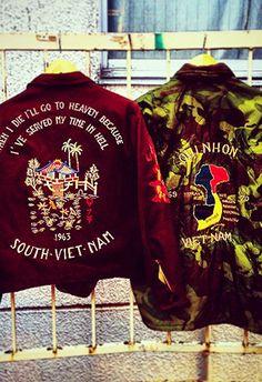 Cult item: souvenir jacket