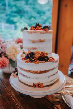 Romantic Barn Wedding in Vermont Wedding Cake Rustic, Wedding Cakes, Welcome To The Party, Rehearsal Dinners, Vermont, Getting Married, Wedding Planning, Floral Design, Romantic
