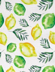 Citrus Sage Fabric