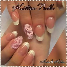 French Manicure Nails, Facebook, Beauty, Beauty Illustration