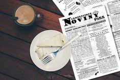 Narozeninové noviny jsou přizpůsobené jubilantům, kteří v roce 2020 oslaví 65. narozeniny. Jedinečnost novin podtrhuje skutečné jméno, příjmení a datum narození oslavence. Vhodný dárek nebo předmět pro zpestření oslavy. Na přání vložíme fotky i text.