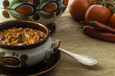 Chili con Carne Healthy Eating, Low Carb, Soup, Recipes, Bud Spencer, Rind, Bowls, Kitchens, One Pot