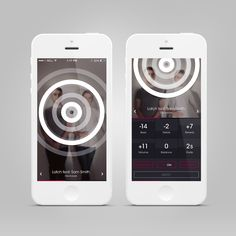 Music Visualiser User Interface #UI #Design