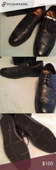 Johnston & Murphy Black Leather Oxford Dress Shoes 🥂Posh Party Pick🥂 Johnston & Murphy Black Leather Oxford Dress Shoes 👞 Men's, New with Tags, Never Been Worn. Still with Original Packing & Box. Retail $135. Johnston & Murphy Shoes Oxfords & Derbys