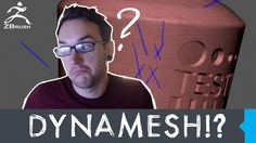 ZBrush Tip - Using Dynamesh and ZRemesher the right way