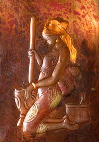 Natural Copper Art 111