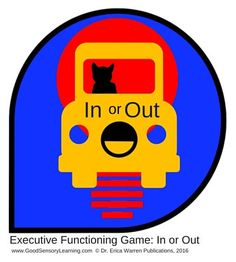 Executive Functioning Game In or Out - Here is a fun resource for struggling learners and students with dyslexia.  It's a great way to make learning fun! $