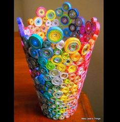 """Free Art Projects For High School Students – s Wall Decal Free Art Projects For High School Students – s Wall Decal 41 Crafty DIY Projects foArt Paper Handmade QuilOriginal Quilling Art """"Ki Arte Quilling, Paper Quilling Designs, Quilling Paper Craft, Quilling Patterns, Paper Crafting, Quilling Ideas, Doll Patterns, Recycled Magazine Crafts, Recycled Magazines"""
