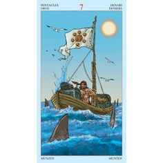 Tarot of Pirates. Printed by Lo scarabeo 78 cards. Visit shop.