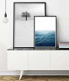 Ocean Art Print | Ocean Photography | Ocean Print ______________________________________________________ Welcome to Little Ink Empire. Here youll find a range of unique art prints inspired by the latest interior design trends, perfect for adding that little extra-something to your