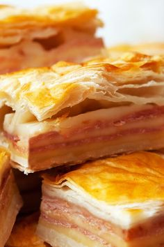 Ham and Cheese in Puff Pastry Recipe - Only 5 Ingredients!