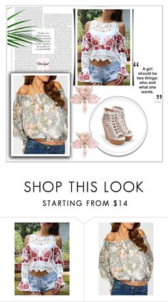 """""""Rosegal #26"""" by almedina-86 ❤ liked on Polyvore featuring JustFab and rosegal"""
