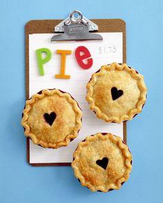 Valentine's Day Dessert Recipes: Mini Berry Pies