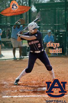 "Auburn softball countdown to 2013 season...pic by Lauren ""Buffy"" Schmalz!"