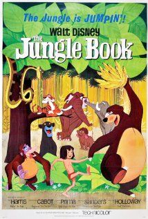 The Jungle Book (1967)~Many strange legends are told of these jungles of India, but none so strange as the story of a small boy named Mowgli. It all began when the silence of the jungle was broken by an unfamiliar sound.