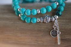 Bracelet turquoise love www.villavica.nl #Liviajewels #wholesale