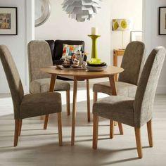Dunhelm Croydon Marlow Fabric 4 Seater Dining Set £470.00