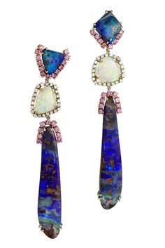 Mauro Felter opal earrings.