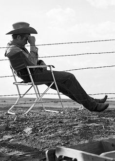 James Dean photographed by Frank Worth on the set of Giantin 1955.