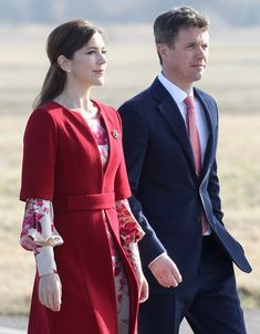 Princess Mary Photos: The Prince Of Wales And Duchess Of Cornwall Visit Denmark - Day One