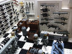 lego gun shop - Google Search