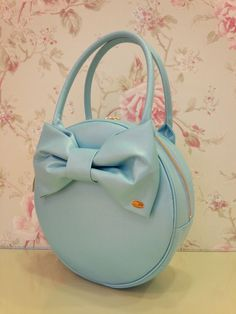 Leur Getter: Ribbon bag in mint
