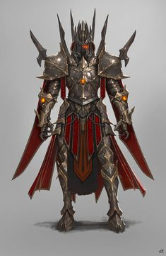 *Deceased* Daejun, the War Giant. 1st Champion to Tornen God of War & Wielder of Bane of Armies. Fantasy Armor, Dark Fantasy, Medieval Fantasy, Armor Concept, Game Design, Character Concept, Character Art, Character Design, Fantasy Characters