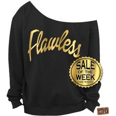 Flawless Sweatshirt Beyonce Sweatshirt Flawless Sweater Slouchy... ($25) ❤ liked on Polyvore featuring tops, hoodies, sweatshirts, dark olive, women's clothing, sweat shirts, loose tops, loose off the shoulder tops, off the shoulder tops and graphic sweatshirts