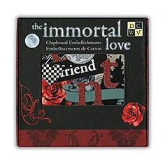 DCWV Immortal Love Box of Chipboard $12.21