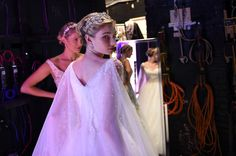 Elsa backstage at #AngeloCenterStage