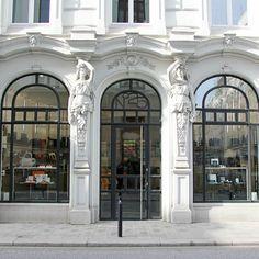 Innen wie Außen ein wunderschöner Shop für Papier, Schreib- und Lederwaren | creme hamburg
