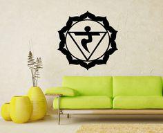 Vinyl Decal Solar Plexus Chakra Religion Symbol by SuperVinylDecal, $24.99