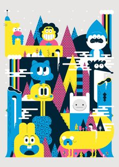 You'll love these characterful Cartoon Network illustrations | Posters | Creative Bloq