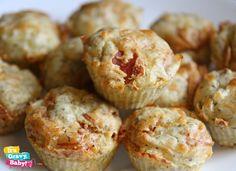 Pepperoni  Cheese Pizza Muffins - Kid  Freezer Friendly Recipe - Its Gravy, Baby!