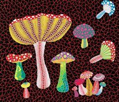Yayoi Kusama-Toadstools