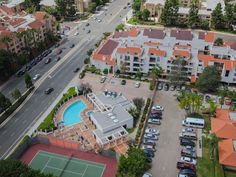 Tennis court, indoor heated lap pool and spa are just a few of the amenities of this retirement community. #SanDiego #UTC #RetirementCommunity #Penthouse