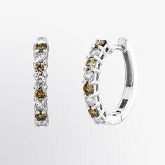 chocolate diamond earrings | brown diamond, jewelry, white gold, earrings, diamond, fine jewelry ...