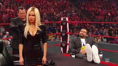 Divorse segment on Raw between Lana and Rusev. Eric Bischoff, Jerry The King Lawler, Raw Wwe, Wwe Royal Rumble, New Roman, Nxt Takeover, Wwe Roman Reigns, Chris Jericho, Getting Divorced