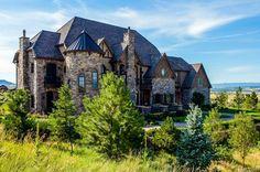 $2.75 Million English Tudor Style Brick & Stone Mansion In Littleton, CO