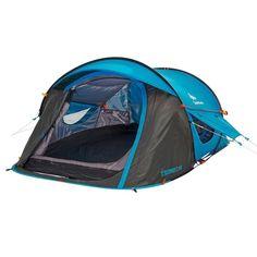 (US Warehouse) Quechua Waterproof Pop Up Camping Tent 2 Seconds EASY AIR 2 Man #Quechua